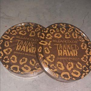 Kleancolor Tanned Rawr Shimmer Bronzer